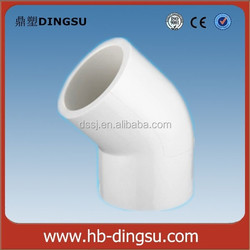 Useful SCH40 PVC Pipe Fitting 45 Degree Elbow
