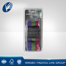 Personalized pp luggage strap buckle with combination lock