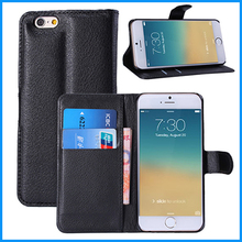 For iPhone 6 For Samsung Galaxy S6 Edge Cell Phones Wallet Leather Case