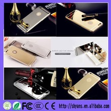 Factory Price Luxury Fashion Customized Cell Phone Case With Mirror For Iphone 5 5s
