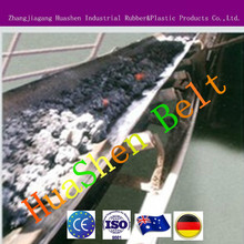 EP polyester rubber belts heavy duty conveying high temperature manufacture plant belt for ore