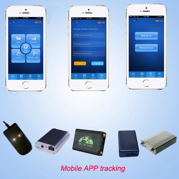 Mini Gps Tracker TK108 para carro, Caminhão e gestão de frotas, App rastreamento, Passe CE