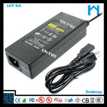 12v power supply constant current adapter for lcd monitor 96w power dc ac adapter 8A