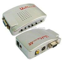 Silver Ultimate 2000 AX VGA to AV Converter Box