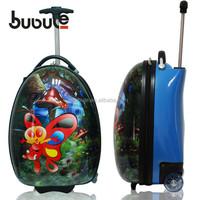 BUBULE 2015 hot-selling children luggage bag mini toy suitcase children rolling luggage bag school trolley bag