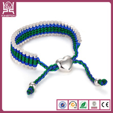bellisima pulsera tejida de multicolores