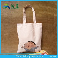 eco friendly china factory plain cotton shopping tote bag