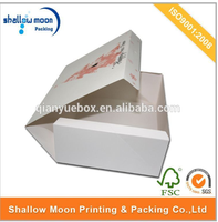 wholesale disposable food grade paper cardboard lunch box