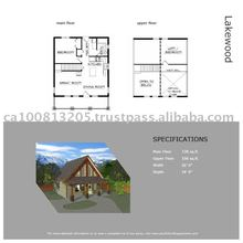 Lakewood Stock Prefab House