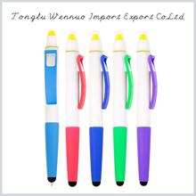 Eco-friendly reclaimed material cute stylus pens