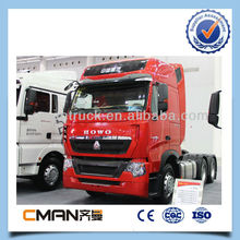 Sinotruk 2014 year new heavy duty 10 wheeler howo tractor truck with 420hp