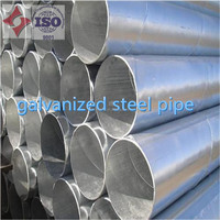 ASTM A53 GR.B hot dip galvanized seamless steel pipe welded steel pipes