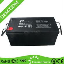 Longest Lifespan Lead acid Battery Solar Battery 12V200ah OPzV Battery
