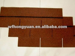 12 Colors UV-Resistant Asphalt Shingles for Roofing