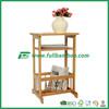 Fuboo-- Bamboo 2-Tier storage shelf with basket desktop