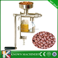 Best selling stainless steel manual oil press machine,mini oil press machine