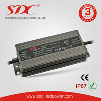 SDC-AST080 80W CE Certificated Constant Current 36V/2400mA LED Power Driver IP67 Waterproof LED Power Supply