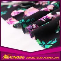 China Manufacturer Shrink Resistance Dress printed silk chiffon fabric