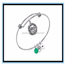 Mothers Day Gifts Unwritten Determined Turtle Charm Bangle Bracelet