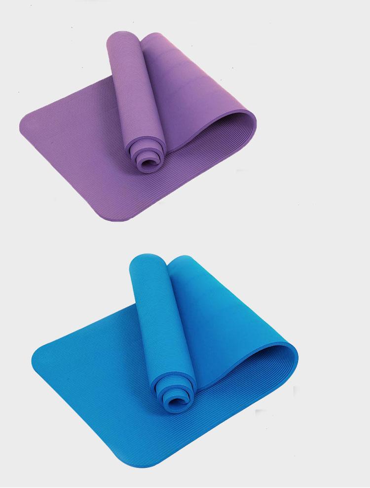 Wholesale Eco Friendly Sport Fitness Mat Custom Label Nbr