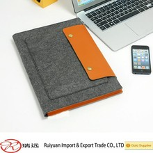 2015 best selling!!!13'' durable Felt laptop bag MADE IN CHINA