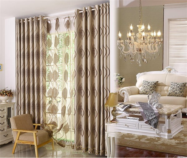 Yilian home decor turque rideaux rideaux de salon for Autrefois home decoration rideaux
