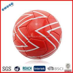 Machine Stitched footballs ball with different color