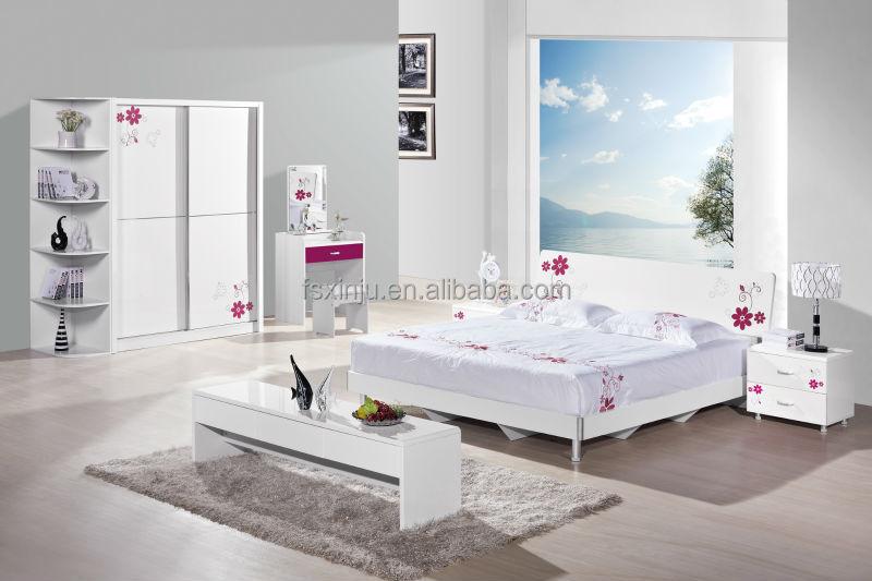 Pas cher moderne de chambre à coucher / meubles de chambre à ...