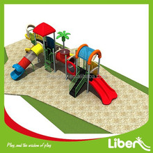 Wooden Outdoor Playsets for Kids with Playground Surfacing