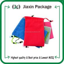 2015 best selling products custom velvet drawstring gift pouch bag