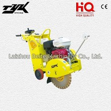 Walk Behind Gasoline Asphalt Floor Road Used Cutting Saw Machine