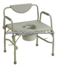 Hospital toilet chair folding walker disabled commode chair