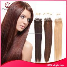 High Temperature Fiber Hair 1 Piece human hair micro ring hair extension