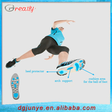 air cushion insoles for sport running shoes