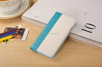 Light blue Flip case for iphone, folio case for iphone, wallet case for iphone