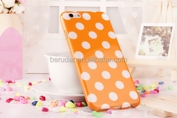 Custom mobile accessories for iphone 6 tpu smart phone cover