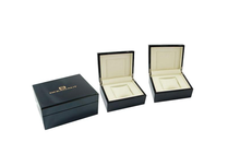 FSC&SA8000 approved wood watch display case for promotion