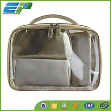 High Quality PVC Cosmetic Bag with Mirror