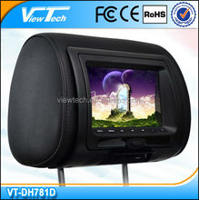 """7"""" Digital Panel Car Pillow Headrest dvd Player, Universal fit for any car"""