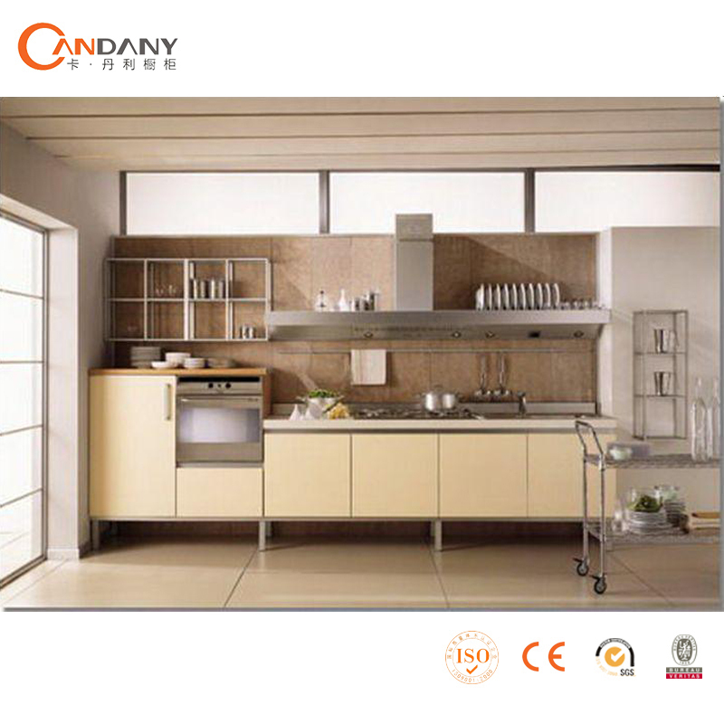 OEM Kitchen Cabinet Factory Veneer Melamine Door Panel Kitchen Cabinet