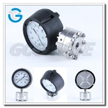 High Quality stainless steel phenolic case pressure gauge with diaphragm seal