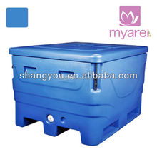 1000L high quality rotomolded marine ice bin cooler