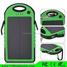 Solar Panel 5000mah Portable Backup Power Bank