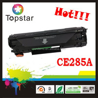 ISO,SGS,CE China laser toner CE285A compatible toner cartridge 285 for HP printer inzhuhai