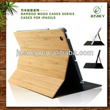 Bamboo flip for ipad covers and cases top quality,for ipad cases and covers