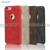 Original USAMS BOB Series PU Leather Case High Quality Cover Case For iPhone 6s/6s plus