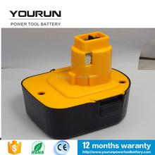 Rechargeable Power Tool Battery for ni-mh dewalt 12v 2500mah tools battery DW9071 DW9072 DE9071 DE9037 DW9072 DE9075 397749-01