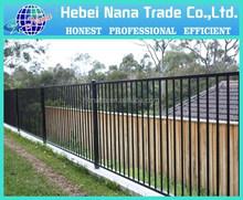 outdoor plastic barricade fence