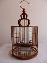 Bamboo bird cage for pets
