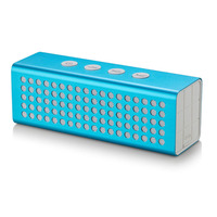 2015 portable music box 4400mAh bluetooth speaker with power bank